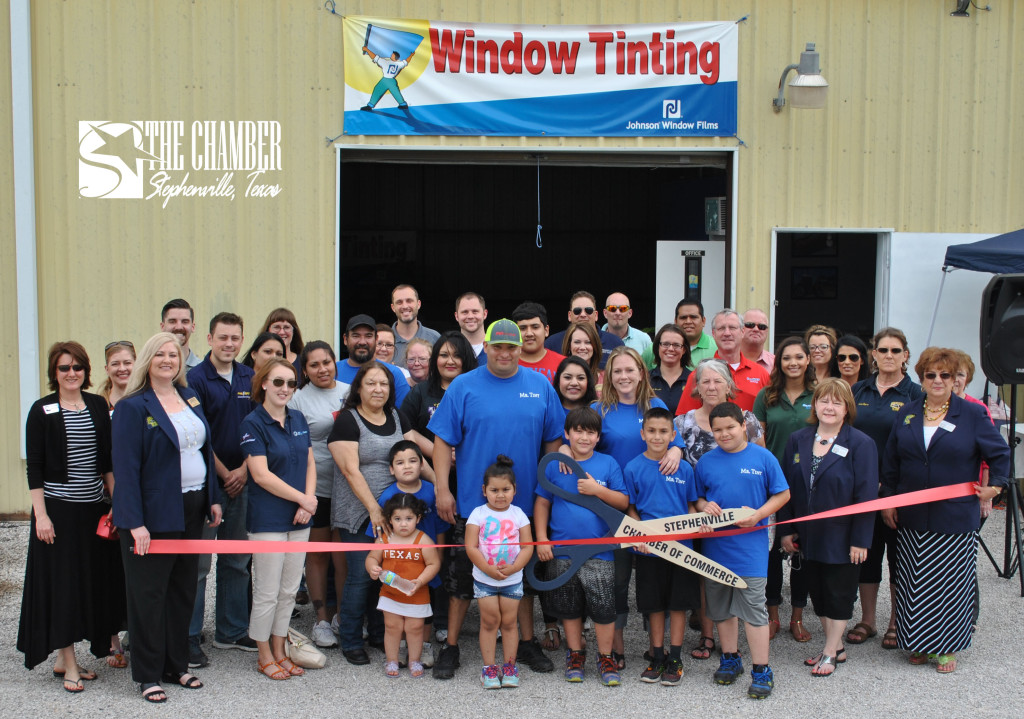 Ribbon Cutting - Mr Tint, May 20, 2015