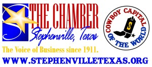 Stephenville Chamber Cowboy Capital Logo with website