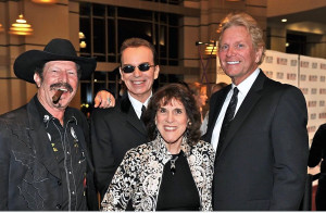 Ruthi and Kent pictures with Kinky Friedman and Billy Bob Thornton