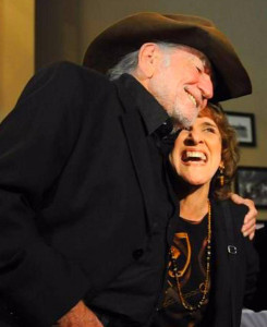 Ruthie and Willie Nelson